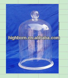 quartz glass bell jar