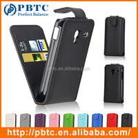 Set Screen Protector Stylus And Case , PU Leather Wallet Cover For Samsung Galaxy Ace Plus S7500