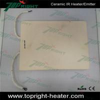 Infrared Heating 220V Ceramic Heater Flat Type 1500w