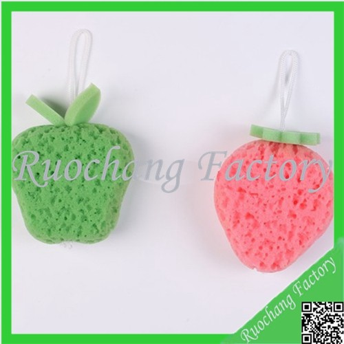 Cheapest Fruit-shaped Baby Mesh Pouf Bath Sponge