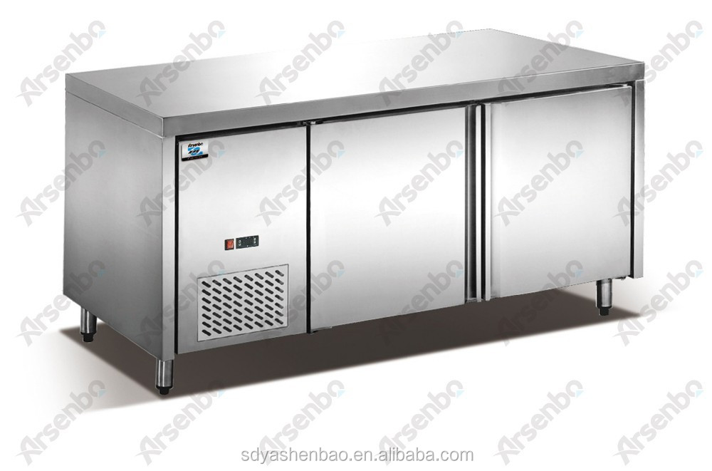 Commercial refrigerator/Kitchen freezer/workbench refrigerator freezer for restaurant