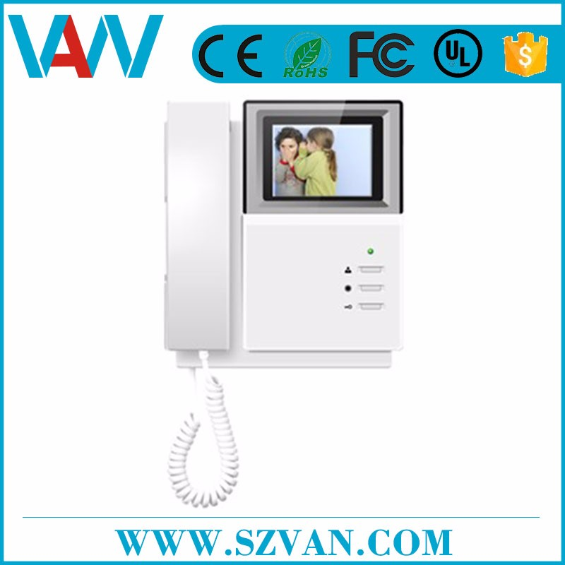 most competitive video door phone for villa building With Good Sealing Device