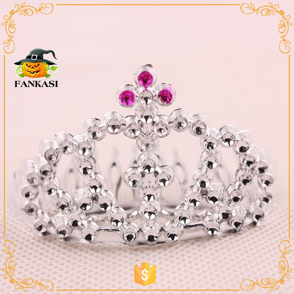 Fashion party mini plastic tiara
