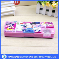 new design cartoon elsa princess frozen pencil case for school children