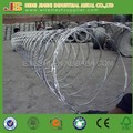 GALVANIZED STEEL HELICAL BARBED WIRE