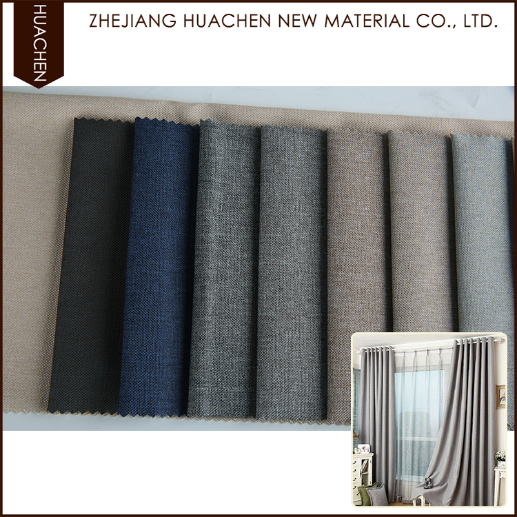 New model design eco-friendly blackout curtain fabrics in china
