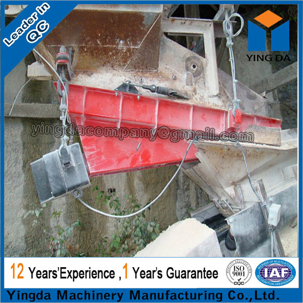 High efficiency durable automatic vibrator feeders