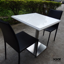 acrylic solid surface restaurant wall mount table