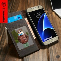 Wholesale Factory Price Book Style Stand luxury Wallet Leather Phone for samsung back With Card Slot,for galaxy s7 case