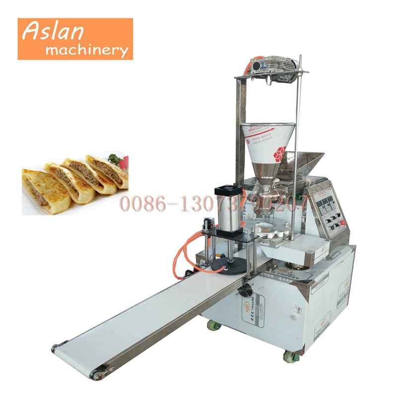 automatic bun filling machine/stuffed cake making machine/chocolate pie encrusting machine