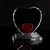 heart cup crystal trophy medal custom iceberg crystal craft