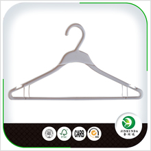 Cheap plastic coat hanger with clip
