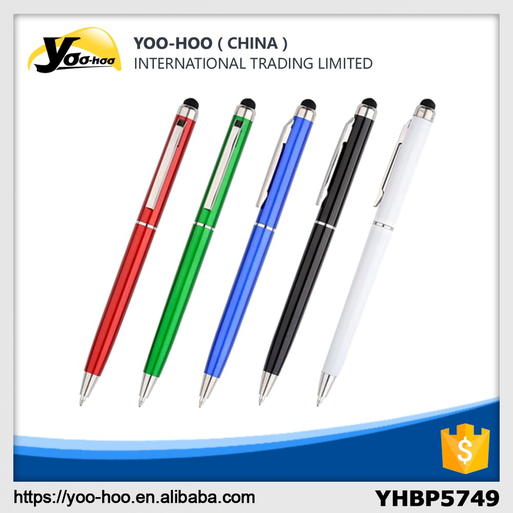 Cheap plastic promotional touch ballpen