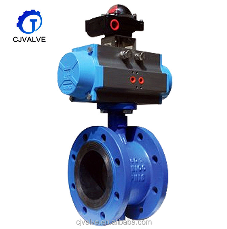 Factory offer Pneumatic actuator pirce butterfly valve dn200