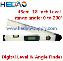 Digital Angle Finder Gauge Bevel Box Protractor Inclinometer Magnetic Spirit Level