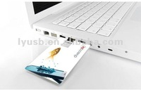 gift business card usb flash driver , photo printed credit card usb ,super thin 2mm gift usb memory cards
