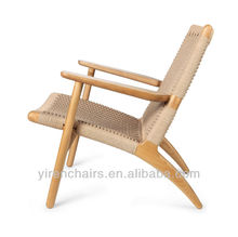 covered wood rest chair