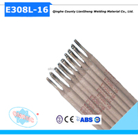 E308L-16 stainless steel Welding Electrode 3.2mm 4.0mm 5.0mm