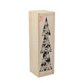 Wholesale Carved Painting Single Wooden Wine Box