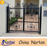 China hot sale cast iron house gate grill designs NTIG-180A