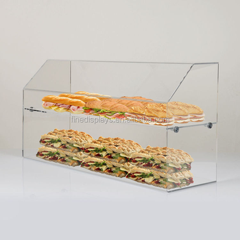 Food Screen with Display Shelf(FD-U-423)