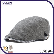 New fashion cotton newsboy hat white beret hat beanie hats for men