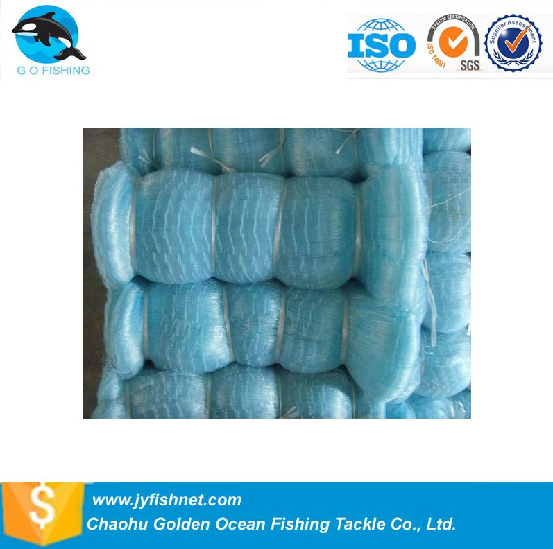 0.15mm Thailand Brand fishing Net Gill Net For sale with super quality