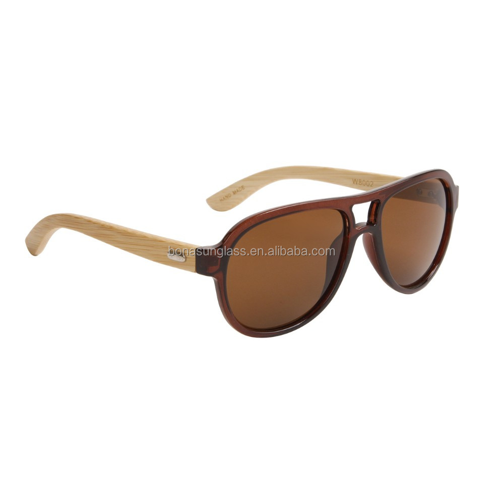 high quanlity hand make customer logo wooden sunglasses