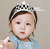 MS70049W High quality baby girls crown hair band