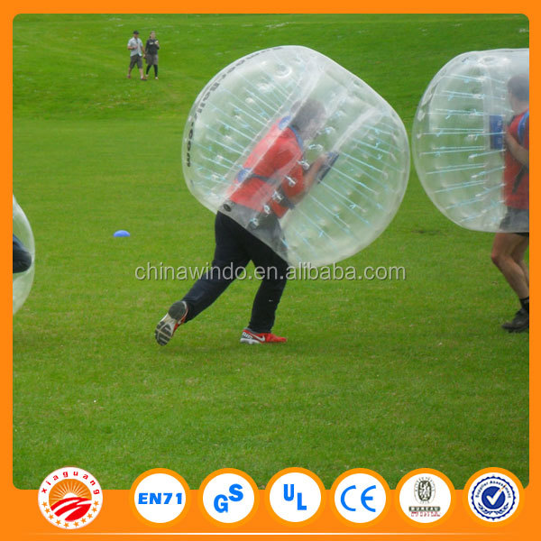 Bubble Football 1.5m Red or Blue, Loopy Ball, Body Zorb Bumper Ball