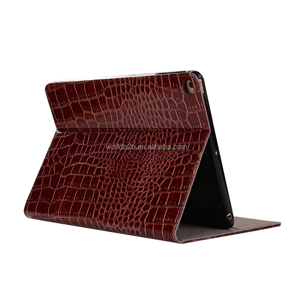 Crocodile Pattern PU Leather Stand Leather Wallet Case for Apple iPad Pro 10.5 inch