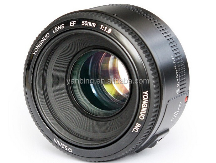 YONGNUO Large Aperture YN50mm F1.8 Auto Focus Lens For Canon EOS 70D 80D 5D3 7D2 760D DSLR Camera