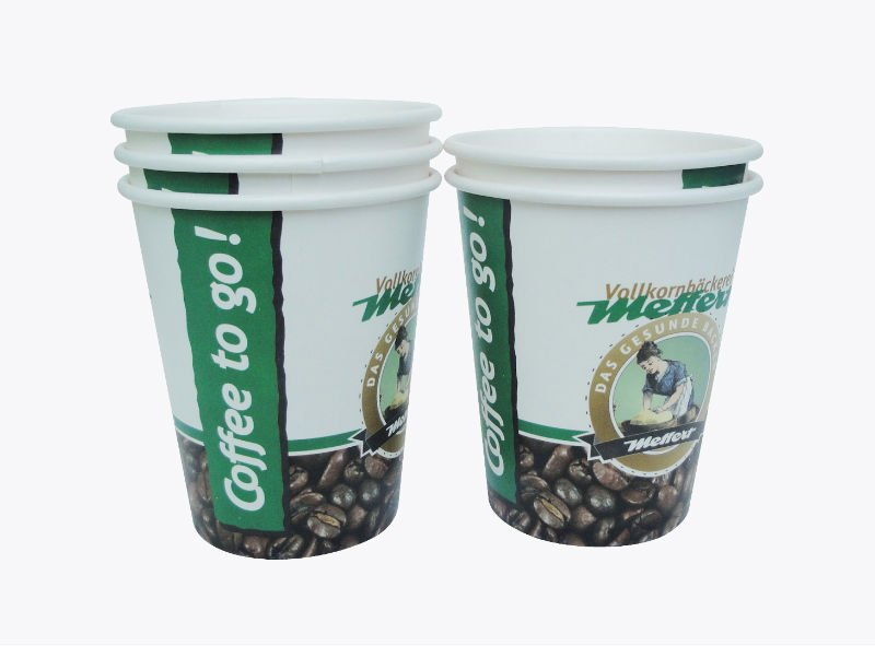 Disposable 8oz Single wall hot coffee paper cup