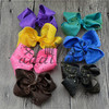 Soft flower hair bowknot mix colors hairpin plastic fashion metal children's hairpin headband