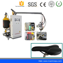 Low pressure injection moulding pu polyurethane foam machine for bicycle seat