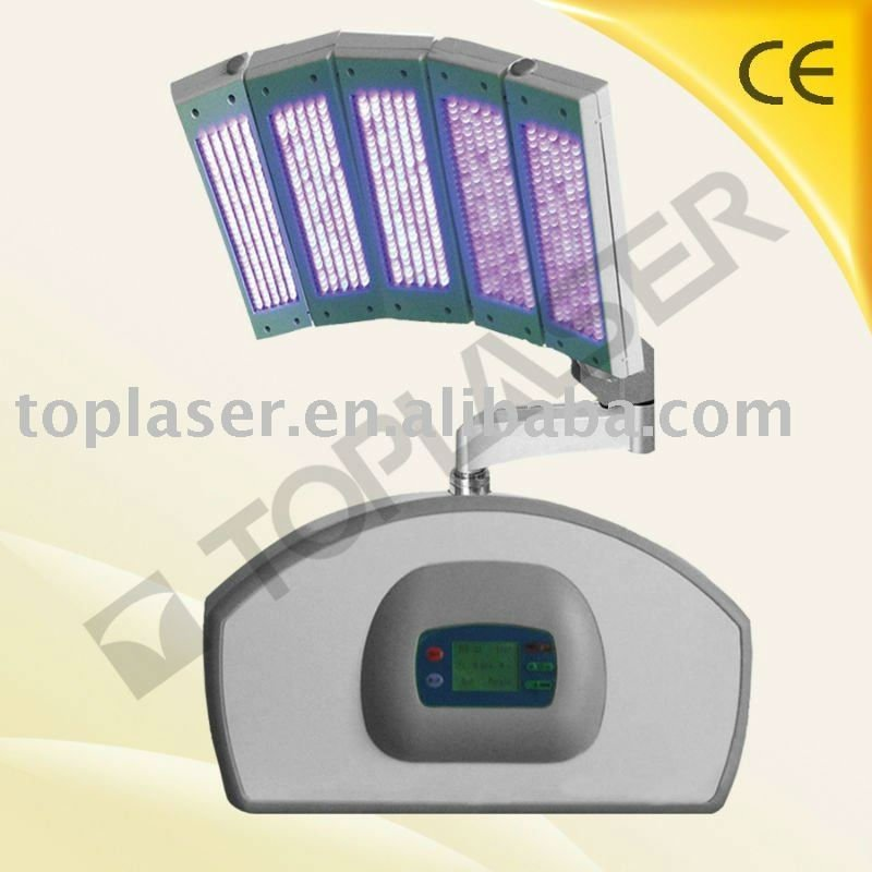led light panel acne