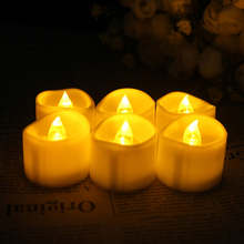 Party Wedding Cylindrical Electronics Manual Tea Light Led Candle