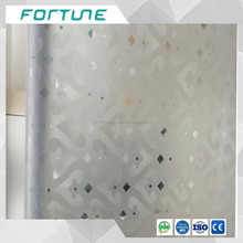 heart embossing pvc film translucent plastic film