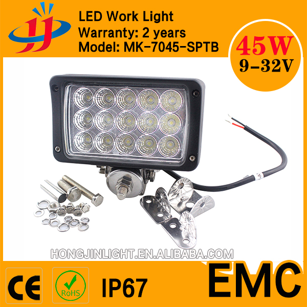Hongjin 7inch 45w led work light led lights for cars
