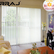RRAJ Vertical Motorized Blinds System with Guide Track