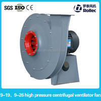 9-19 high static pressure fans, ventilation mine fans, small industrial ac blower for forge furnace