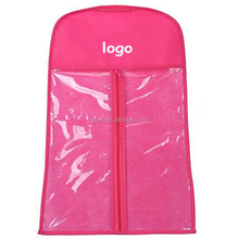 HOT SALE hair extensions bags,hangers ,plastic bags for hair extensions/hair wig for free