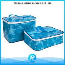 Ruiding Bulk Different Type PP Non Woven Insulated Lunch Cooler Bag With Laminated