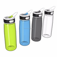 Promotional Gift Bpa Free Sipper Bottle Plastic Material Water Bottle With Handle,800ML 27oz