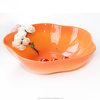 HMT8803 colorful dry food dishes plastic fruit dishes