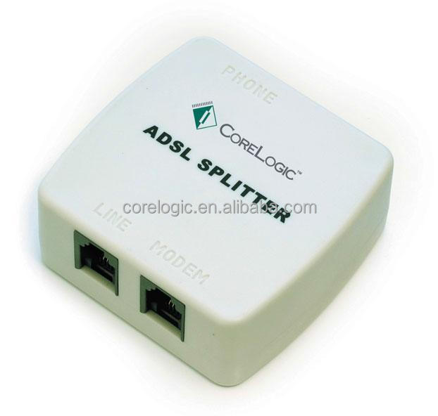 good quality parts and function of telephone adsl filter rj11