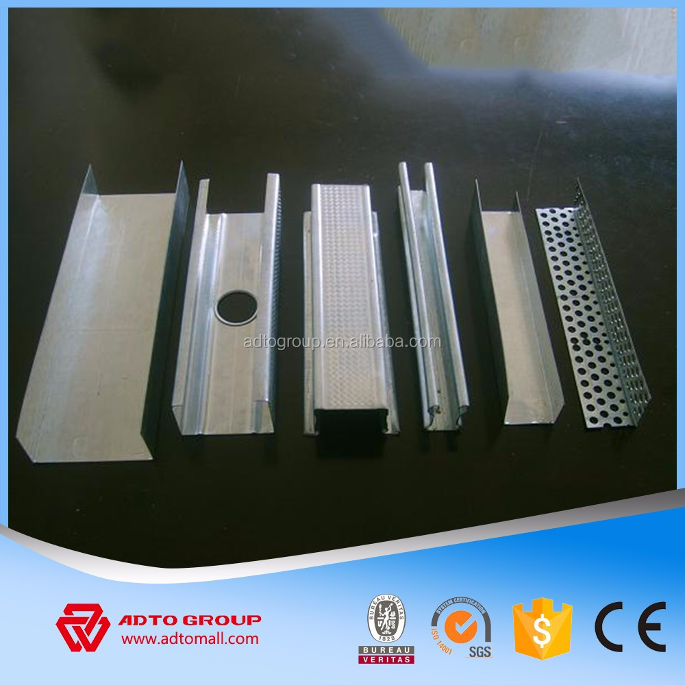 Hot Dip Wall Lining Drywall Pratition Metal Framing Steel Floor Joists for sale