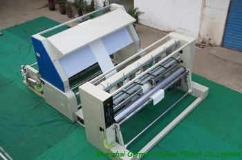 automatic fabric roll cutting line