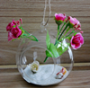 Wholesale 8cm Christmas Clear Hanging Glass Balls