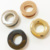 Top Quality New arrival Custom Handbag Hardware Buttons Zinc Alloy Round Rings Eyelet